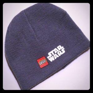Lego Star Wars Beanie Hat Gray Cap